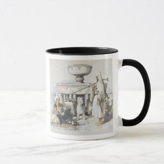 Mug La fontaine des lions, vignette des 'croquis