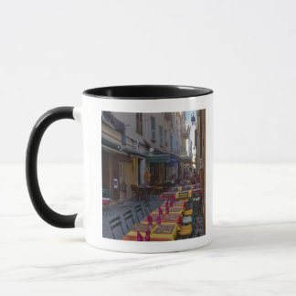 Mug La France, Corse. Tableaux de café installés dans