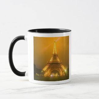 Mug La France, Paris. Tour Eiffel illuminé à 3