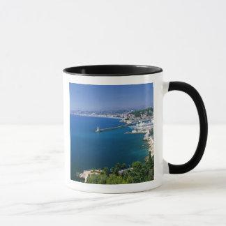 Mug La France, vue Nice et aérienne du port