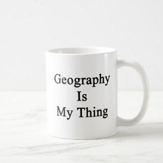 Mug La géographie est ma chose
