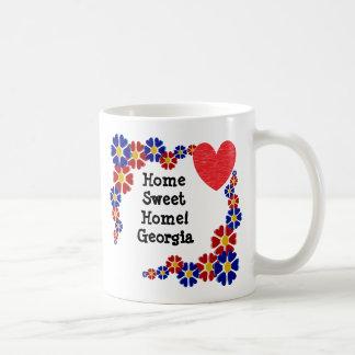 Mug La Géorgie à la maison douce à la maison