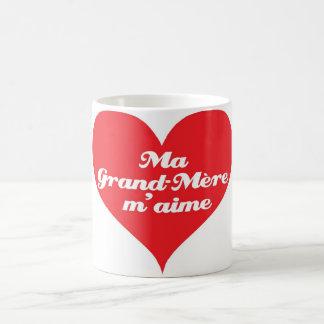 Mug La grand-maman m'aime (les Français)