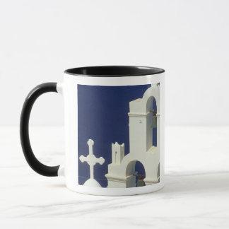 Mug La Grèce, Santorini. Vue d'une église grecque et