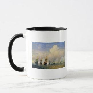 Mug La guerre Russo-Suédoise de mer près de Kronstadt