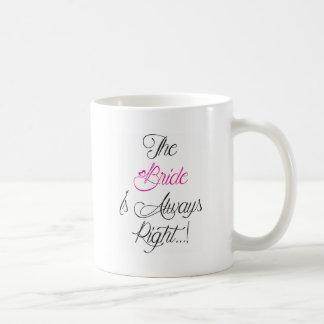 Mug La jeune mariée est toujours bon présent de