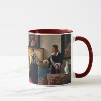 Mug La leçon de musique de Johannes Vermeer