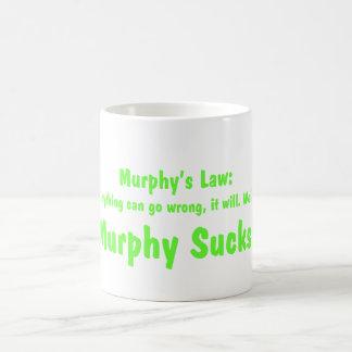 Mug La loi de Murphy….Murphy suce !