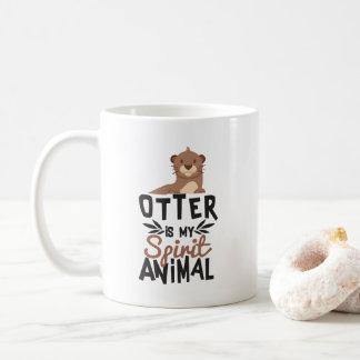 Mug La loutre gentille est mon poster de animal
