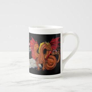Mug La magie étudie le dragon