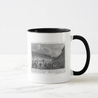 Mug La maison de Johan Wolfgang von Goethe dedans