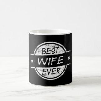 Mug La meilleure épouse toujours blanche