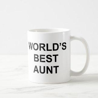 Mug La meilleure tante du monde