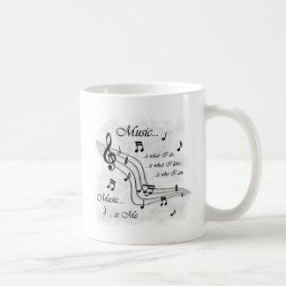 Mug La musique est moi