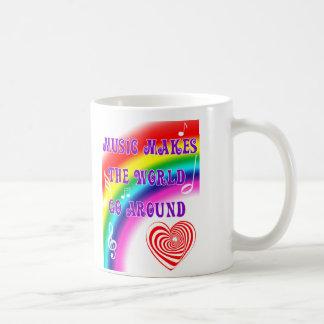 Mug La musique fait le monde tourner