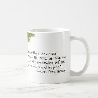 Mug La nature de Thoreau