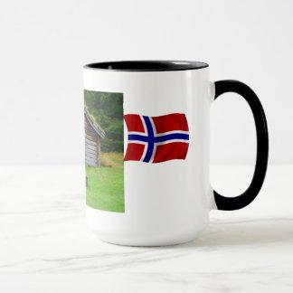 Mug La Norvège, apprécient les hauts pâturages