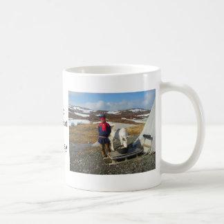 Mug La Norvège, règlement de Sami en Laponie