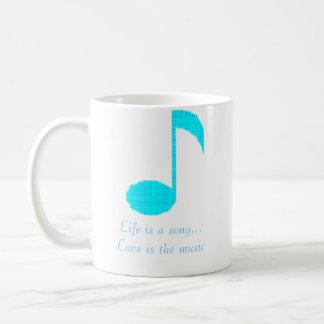 Mug la note 1, la vie de musique est un amour de