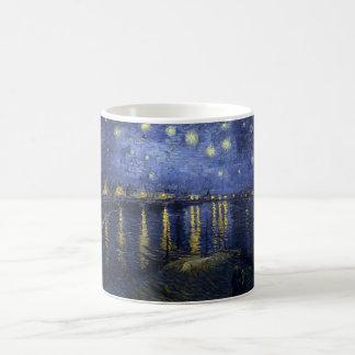 Mug La nuit étoilée de Vincent van Gogh au-dessus du