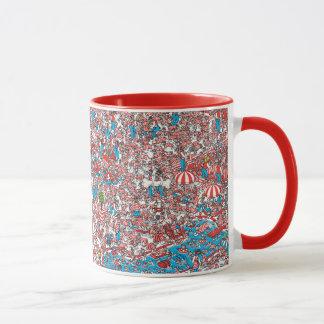 Mug Là où est la terre de Waldo des trames