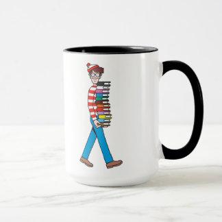 Mug Là où est pile le transport de Waldo de livres