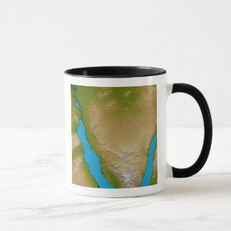 Mug La péninsule du Sinaï
