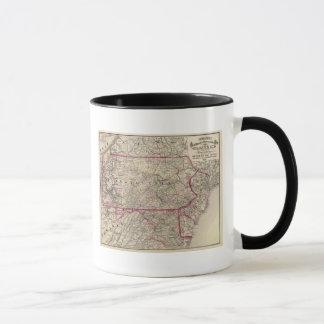 Mug La Pennsylvanie, le Maryland, New Jersey, Delaware