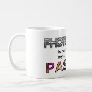 Mug La photographie n'est pas mon travail, il est ma