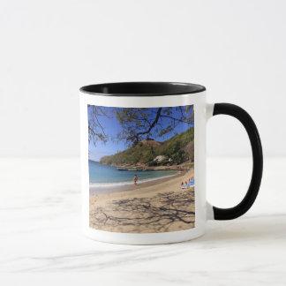 Mug La plage au parc national d'île de pigeon