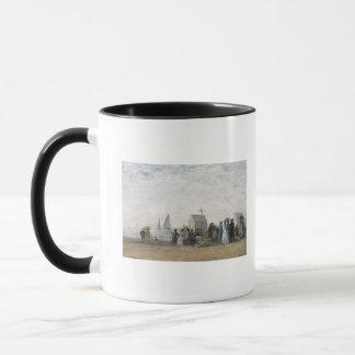 Mug La plage chez Trouville, 1867