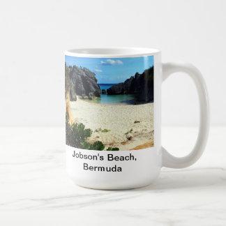 Mug La plage de Jobson, Bermudes