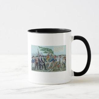 Mug La plantation d'un arbre de la liberté, c.1789