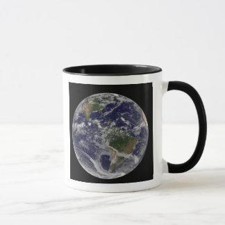 Mug La pleine terre montrant l'Amérique du Nord et des