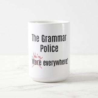 Mug La police de grammaire attaque