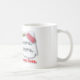 Mug La ponctuation sauve les vies