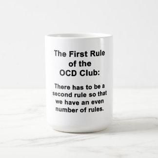 Mug La première règle du club d'OCD