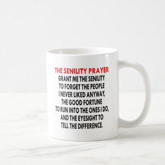 Mug La prière de sénilité