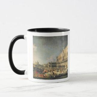 Mug La réception de l'ambassadeur français à Venise,