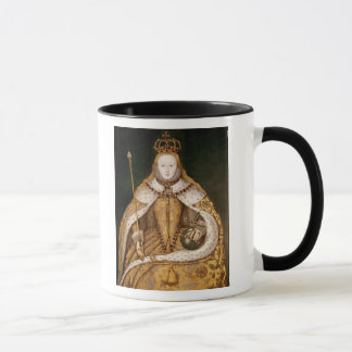 Mug La Reine Elizabeth I dans des robes longues de