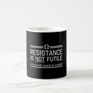 Mug La résistance n'est pas futile
