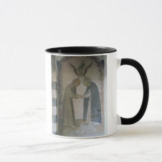 Mug La réunion de St Dominic et de St Francis (fresque