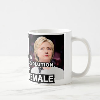 Mug La révolution est femelle