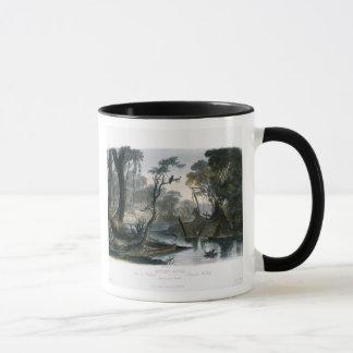 Mug La rivière de coupure, branche du Wabash, plaquent