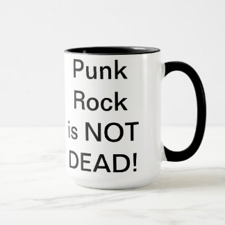 Mug La roche de Punbk n'est pas morte !