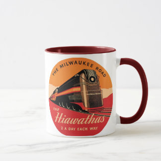 Mug La route de Hiawathas Milwaukee
