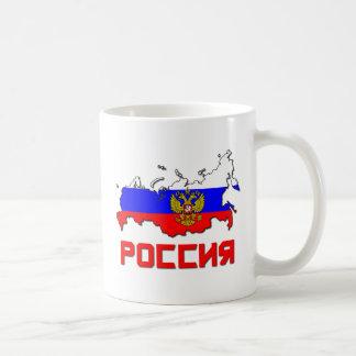 Mug La Russie avec la crête