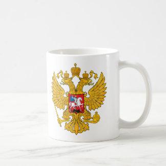 Mug La Russie deux a dirigé Eagle