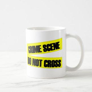 Mug La scène du crime ne croisent pas