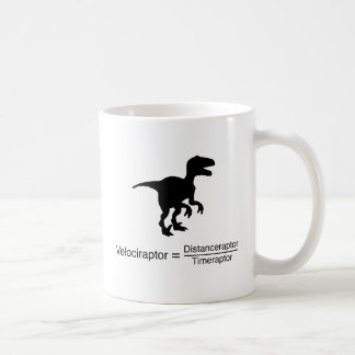 Mug la science drôle de velociraptor